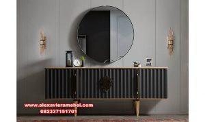 Meja konsul cermin Jepara model terbaru Mkr-041