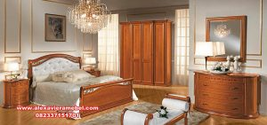 produk kamar set minimalis klasik mewah linea arredo, kamar set jati, 1 set tempat tidur jati, tempat tidur jati minimalis modern, set kamar tidur minimalis
