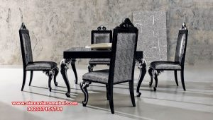 Set meja makan modern mewah garengan homedecor Skm-056