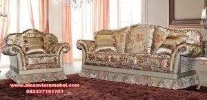 Sofa tamu mewah modern bludru corona Srt-050