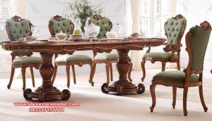 Meja makan klasik syahila Skm-064