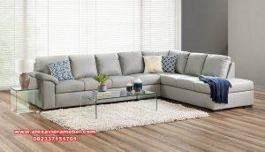 Sofa sudut L modern minimalis hannan milano Srt-061
