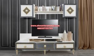 Model bufet tv minimalis modern terbaru retro Sbt-062