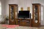 Set bufet tv klasik minimalis kayu jati gostinaya Sbt-056