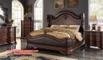 1 set tempat tidur kayu jati klasik granada ks-067