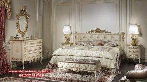 harga tempat tidur termewah duco jepara terbaru ks-073