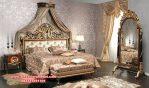 Set kamar tidur ukir kayu klasik mewah alodya Ks-076