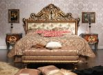 set tempat tidur klasik mewah ukiran luks biryani Ks-070