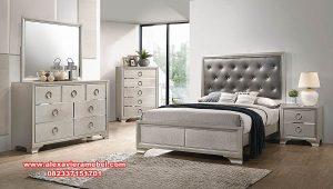 Harga set kamar modern duco silver khilmi Ks-084