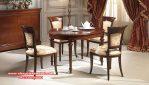 Set meja kursi makan klasik minimalis berkualitas Skm-096