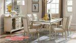 Set meja makan duco minimalis modern sylvia Skm-099