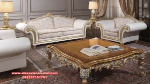 Set sofa mewah modern golden termewah Srt-097