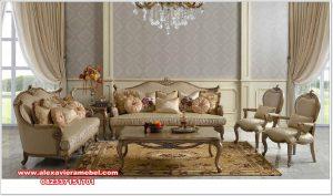 Set sofa tamu eropa model klasik mewah terbaru Srt-102