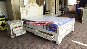 tempat tidur modern minimalis duco bed room design ks-090
