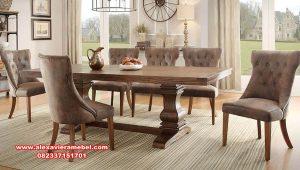 harga meja makan modern minimalis concept skm-107