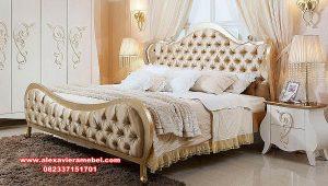 Kamar tidur set modern minimalis mahogany duco Jepara Ks-097
