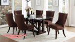 set meja makan modern elegan model minimalis Skm-101