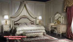 harga kamar set maroko klasik ukiran mewah ks-101