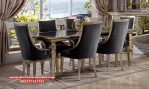 set dining room modern luxury mewah skm-113