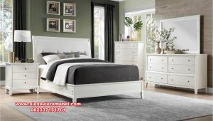 Set tempat tidur modern duco brooklyn design Ks-103