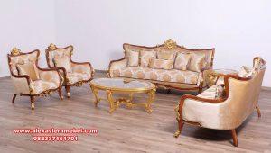 sofa ruang tamu elegan mewah model eropa furniture srt-128