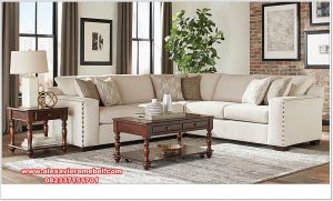 sofa ruang tamu model l modern minimalis terbaru srt-122