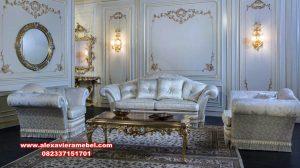 sofa tamu set leony modern mewah srt-120