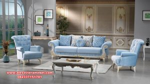 model kursi tamu sofa sehrazat mewah modern srt-133