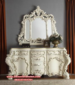 set dresser table rosalinda mewah mkr-108