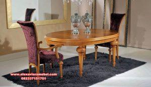 set kursi meja makan contemporary classic skm-136