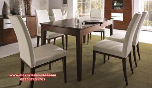 set dining room minimalis leonardo skm-151