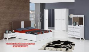 set kamar tidur duco minimalis modern premium ks-111