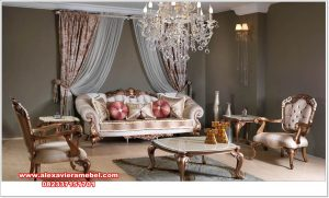 set sofa tamu mewah alexaviera modern srt-158
