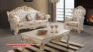 sofa ruang tamu mewah hazal duco gold srt-161
