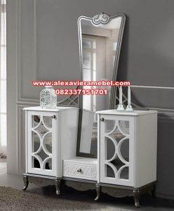 jual meja konsul dan cermin modern minimalis mkr-121