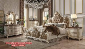 kamar set picardy duco white pearl classic antique ks-130