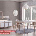 meja makan rustik 4 kursi retro modern, daftar harga meja makan, meja makan minimalis 4 kursi, model meja makan sederhana, meja makan modern