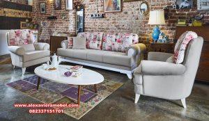 Desain kursi sofa tamu mewah modern atta juni Srt-060