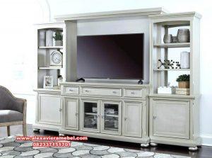 Interior bufet tv ruang keluarga modern duco koroleva Sbt-050