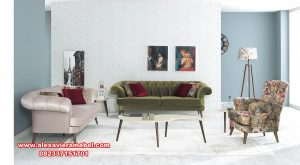Interior sofa tamu modern terbaru dijital son Srt-059