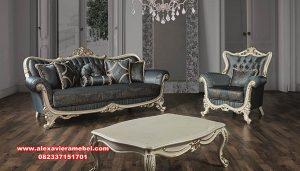 model set kursi ruang tamu klasik modern duco kinja srt-073