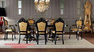 Set meja makan klasik mewah model ganesha Skm-083