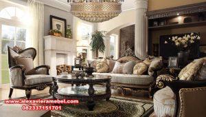 set sofa mewah modern kayu jati berkualitas Srt-079