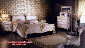 desain set kamar tidur modern duco putih serena ks-069
