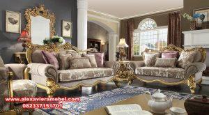 model set sofa tamu klasik modern Jepara terbaru Srt-085
