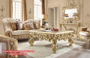 Set kursi tamu ukiran mewah modern living room Srt-086