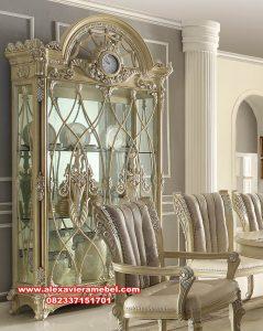 Daftar harga lemari hias modern putih duco violetta Sbt-084