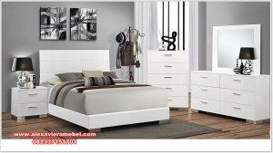 model set kamar minimalis duco putih corie ks-083