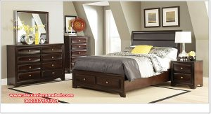 model set kamar tidur simpel minimalis sapphire ks-089