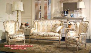 Model sofa tamu modern duco eropa klasik Srt-091